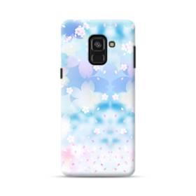 爛漫桜の花 Samsung Galaxy A8 Plus (2018) ポリカーボネート ハードケース