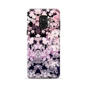 爛漫・夜桜 Samsung Galaxy A8 Plus (2018) ポリカーボネート ハードケース