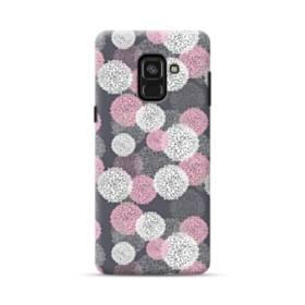 デザイン 花のモチーフ Samsung Galaxy A8 Plus (2018) ポリカーボネート ハードケース