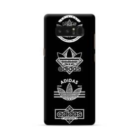 スポーツ マーク パターン Samsung Galaxy Note 8 ポリカーボネート ハードケース
