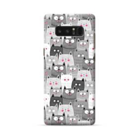 多くの子猫 Samsung Galaxy Note 8 ポリカーボネート ハードケース