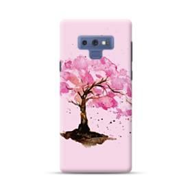 水彩画・桜の木 Samsung Galaxy Note 9 ポリカーボネート ハードケース