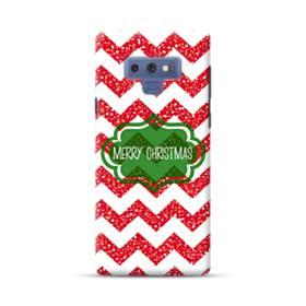 デザイン メリー クリスマス Samsung Galaxy Note 9 ポリカーボネート ハードケース