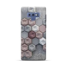 つぶつぶ六角形 Samsung Galaxy Note 9 ポリカーボネート ハードケース