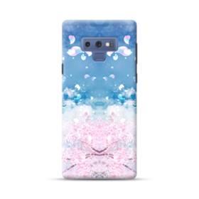 桜の花びら Samsung Galaxy Note 9 ポリカーボネート ハードケース