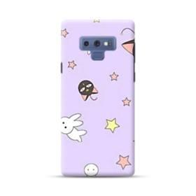 セーラームーンのルナー&うさちゃん・可愛いパータン Samsung Galaxy Note 9 ポリカーボネート ハードケース