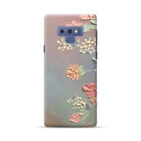 art フラワー 油絵 花 flower アート Samsung Galaxy Note 9 ポリカーボネート ハードケース