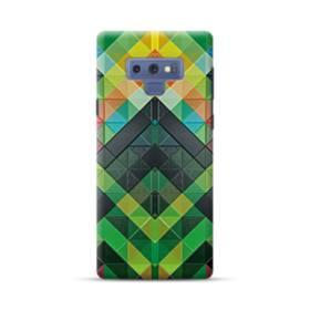 抽象的なモザイクパターン Samsung Galaxy Note 9 ポリカーボネート ハードケース