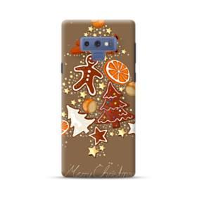 メリー クリスマス クッキー&チョコ Samsung Galaxy Note 9 ポリカーボネート ハードケース