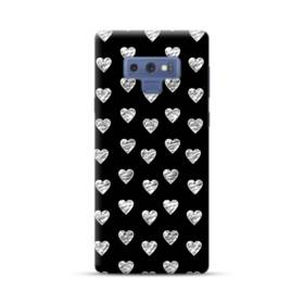 ハートのパターン Samsung Galaxy Note 9 ポリカーボネート ハードケース