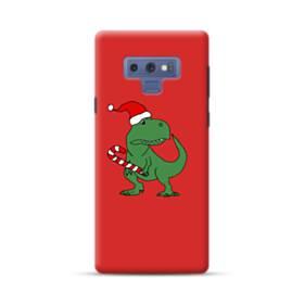 クリスマス 可愛い恐竜さん Samsung Galaxy Note 9 ポリカーボネート ハードケース