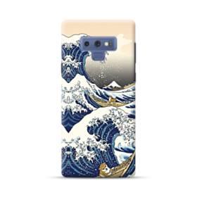 和柄:柴犬in浮世絵 Samsung Galaxy Note 9 ポリカーボネート ハードケース