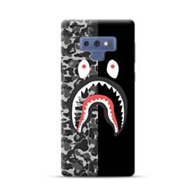 面白いブラック・スーパー ミ(super me) Samsung Galaxy Note 9 ポリカーボネート ハードケース