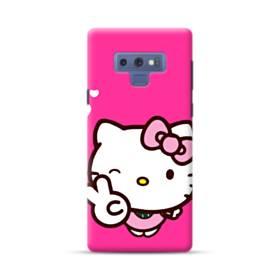 永遠に可愛い!キティちゃん Samsung Galaxy Note 9 ポリカーボネート ハードケース