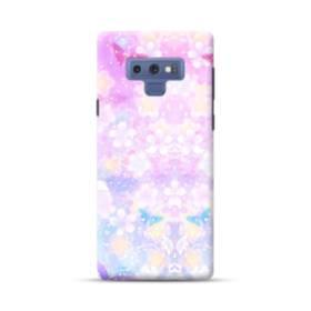 爛漫・抽象的な桜の花 Samsung Galaxy Note 9 ポリカーボネート ハードケース