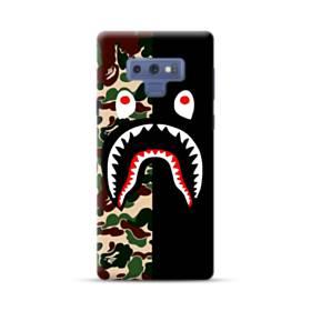 シュプリーム  カモフラージュ&ブラック模様 Samsung Galaxy Note 9 ポリカーボネート ハードケース