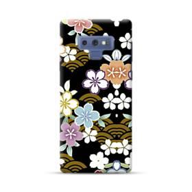 和風・桜&浪 Samsung Galaxy Note 9 ポリカーボネート ハードケース