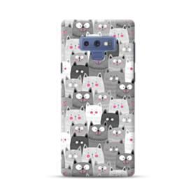 多くの子猫 Samsung Galaxy Note 9 ポリカーボネート ハードケース