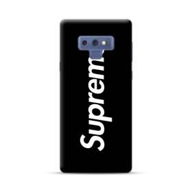 ニューヨークよりブラック・スーパー・ミ(super me) Samsung Galaxy Note 9 ポリカーボネート ハードケース