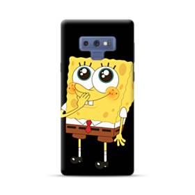 可愛いスポンジボブ Samsung Galaxy Note 9 ポリカーボネート ハードケース