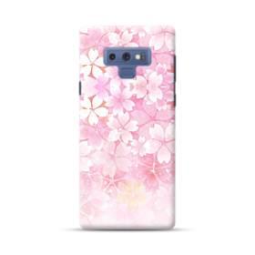 爛漫・ピンク&桜色 Samsung Galaxy Note 9 ポリカーボネート ハードケース