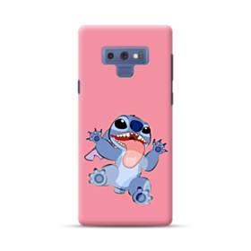 いないいないばあっ!可愛いスティッチ Samsung Galaxy Note 9 ポリカーボネート ハードケース