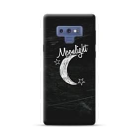 デザイン アルファベット010 moonlight Samsung Galaxy Note 9 ポリカーボネート ハードケース