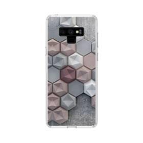 つぶつぶ六角形 Samsung Galaxy Note 9 TPU クリアケース