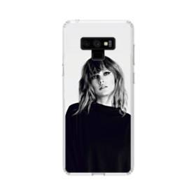 世界の彼女:テイラー・スウィフト01 Samsung Galaxy Note 9 TPU クリアケース
