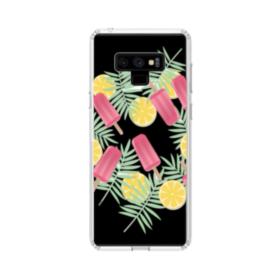 アイスバー&レモン Samsung Galaxy Note 9 TPU クリアケース