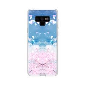 桜の花びら Samsung Galaxy Note 9 TPU クリアケース