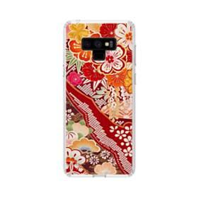 和・花柄 Samsung Galaxy Note 9 TPU クリアケース
