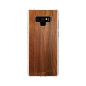シンプルな木目:ライト ブラウン Samsung Galaxy Note 9 TPU クリアケース