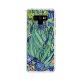 名画:アイリス ファンセント・ファン・ゴッホ Samsung Galaxy Note 9 TPU クリアケース