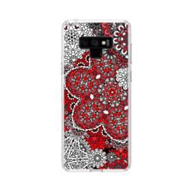 ジャパンニーズ風花のアート Samsung Galaxy Note 9 TPU クリアケース