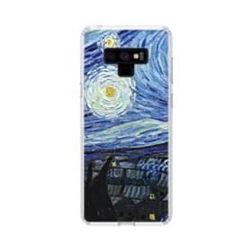 名画:星月夜 フィンセント・ファン・ゴッホ Samsung Galaxy Note 9 TPU クリアケース