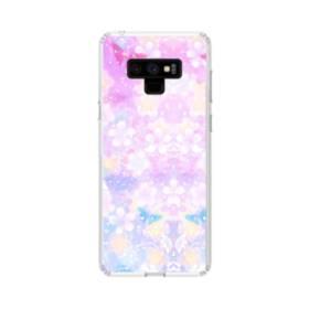 爛漫・抽象的な桜の花 Samsung Galaxy Note 9 TPU クリアケース