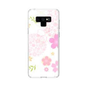 桜の形・いろいろ Samsung Galaxy Note 9 TPU クリアケース