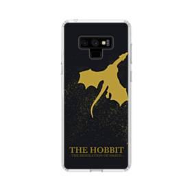 映画アート:ホビット・ドラゴン (The Hobbit) Samsung Galaxy Note 9 TPU クリアケース