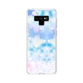 爛漫桜の花 Samsung Galaxy Note 9 TPU クリアケース