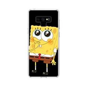 可愛いスポンジボブ Samsung Galaxy Note 9 TPU クリアケース