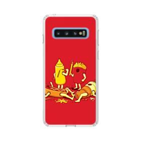 ザ・ジョーク Samsung Galaxy S10 TPU クリアケース
