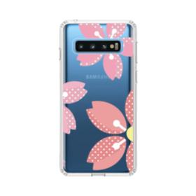 可愛い・桜シリーズ01 Samsung Galaxy S10 TPU クリアケース