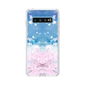 桜の花びら Samsung Galaxy S10 TPU クリアケース