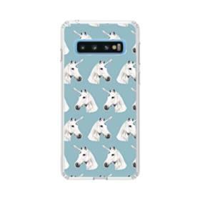 デジタル・ユニコーンのモチーフ Samsung Galaxy S10 TPU クリアケース