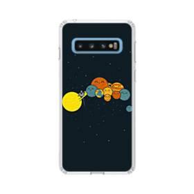 宇宙のモチーフ001 Samsung Galaxy S10 TPU クリアケース