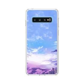 空を見上げて Samsung Galaxy S10 TPU クリアケース