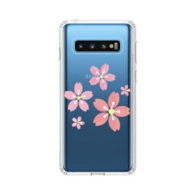 春・桜の花002 Samsung Galaxy S10 TPU クリアケース