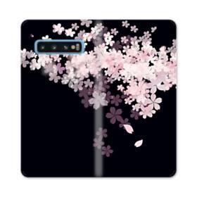 爛漫・桜 Samsung Galaxy S10 合皮 手帳型ケース