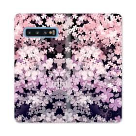 爛漫・夜桜 Samsung Galaxy S10 合皮 手帳型ケース